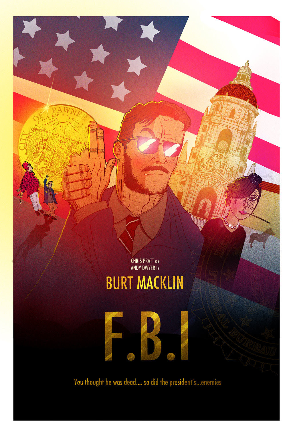 Burt Macklin: FBI by Reuben Dangoor