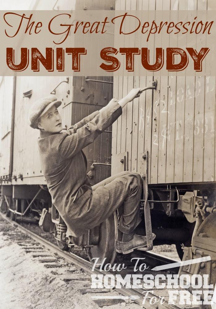 The Great Depression Unit Study