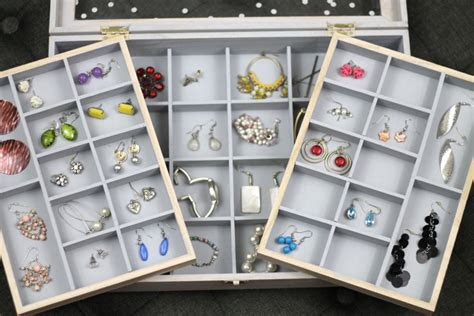 DIY Jewelry Organizer Storage Box Tutorial   Consumer Crafts