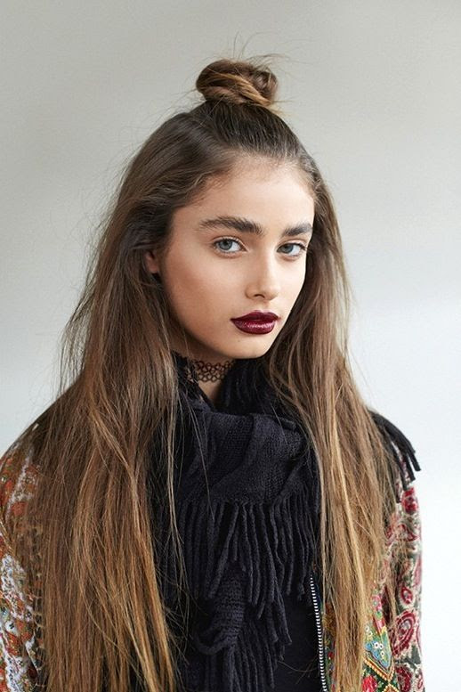 4 Le Fashion Blog 19 Ways To Wear A Half Up Top Knot Bun Long Hair Burgundy Lipstick Via LF Stores photo 4-Le-Fashion-Blog-19-Ways-To-Wear-A-Half-Up-Top-Knot-Bun-Long-Hair-Burgundy-Lipstick-Via-LF-Stores.jpg