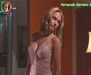 Fernanda Serrano sensual em lingerie nas novelas Jogo Duplo e Sedução