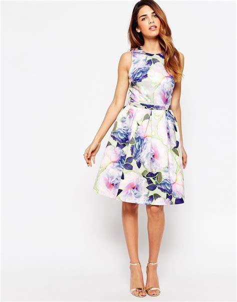 Warehouse Neon Floral Dress ? asos.com   The Merry Bride