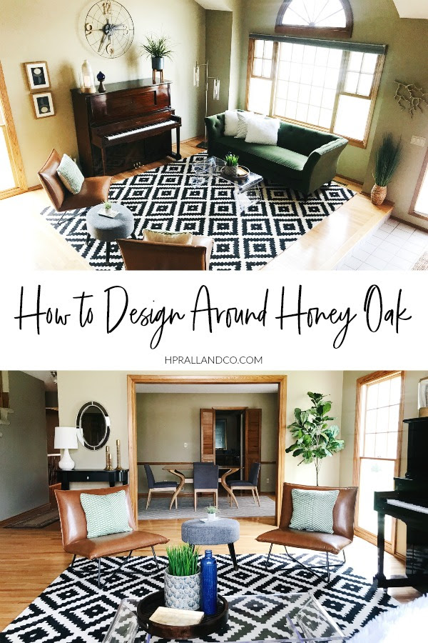 How To Design Around Honey Oak H Prall Interior Design Blog