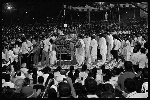 Last Rites Shree Balasaheb Thackeray Shivaji Park - Kabhi Alvida Na Kehna by firoze shakir photographerno1