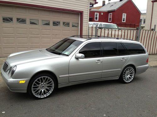 Find used 2002 Mercedes-Benz E320 4Matic Wagon 4-Door 3.2L ...