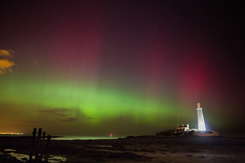 St mary's Lighthouse Aurora