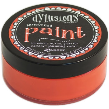 Ranger Dylusions Paint POSTBOX RED DYP46028