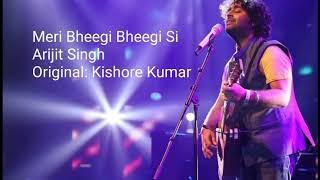 मेरी भीगी-भीगी सी Palkon Pe Reh Gayee lyrics | pancham da