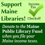 Maine Public Library Fund income tax check-off