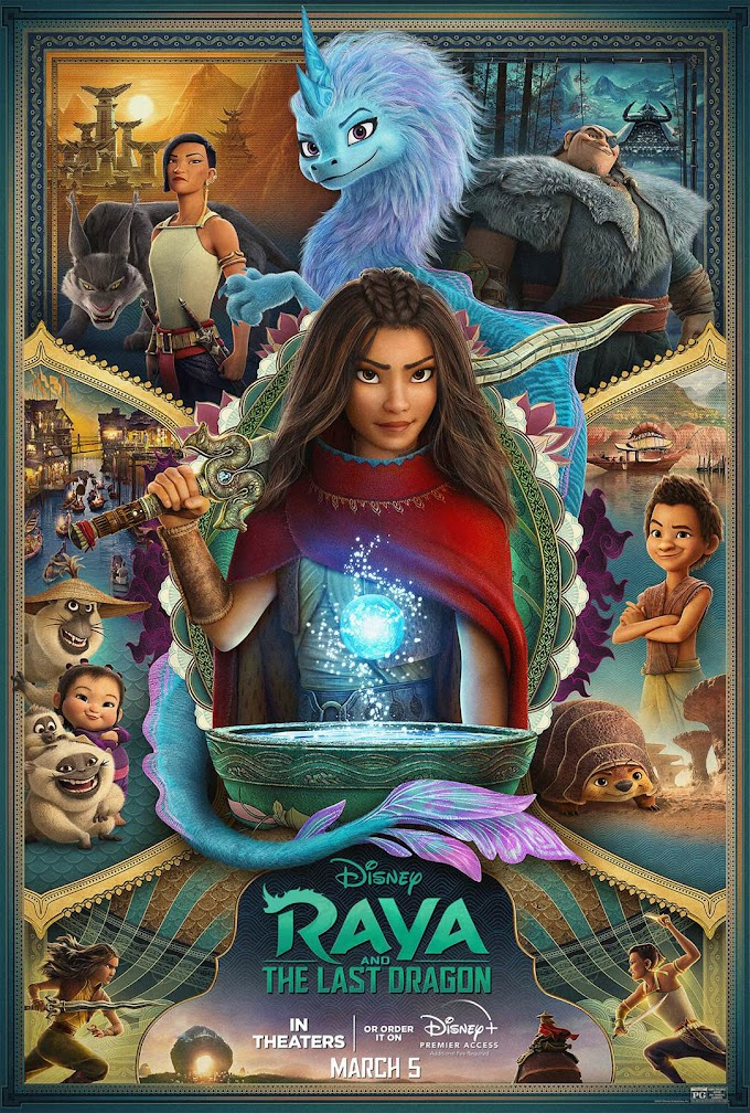 Raya and the Last Dragon (2021) 720p | 480p | HEVC  WEB-HD ENGLISH x264 1.0GB | 350MB | 550MB