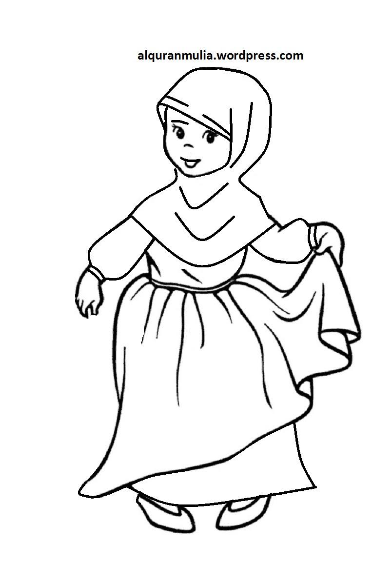 840+ Gambar Kartun Keren Islam HD