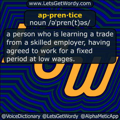 apprentice 08/14/2018 GFX Definition