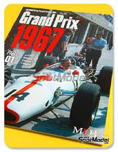 Libro Model Factory Hiro - JOE HONDA Racing Pictorial Series - Grand Prix Cars - Primer volumen 1967