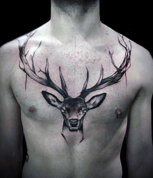 Collar Bone Tattoos For Men Ideas And Inspiration For Guys