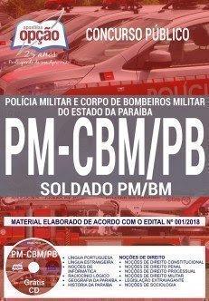 Apostila Concurso PM-CBM PB 2018 | SOLDADO PM/CBM