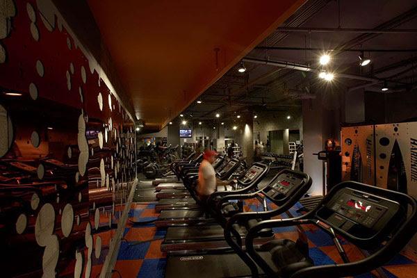 Interior Design Branding Mid City Gym Times Square on Behance
