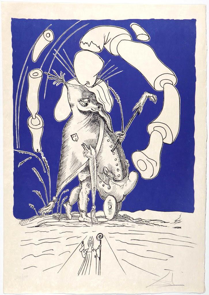 Salvador Dali - Pantagruel 10 (1974)