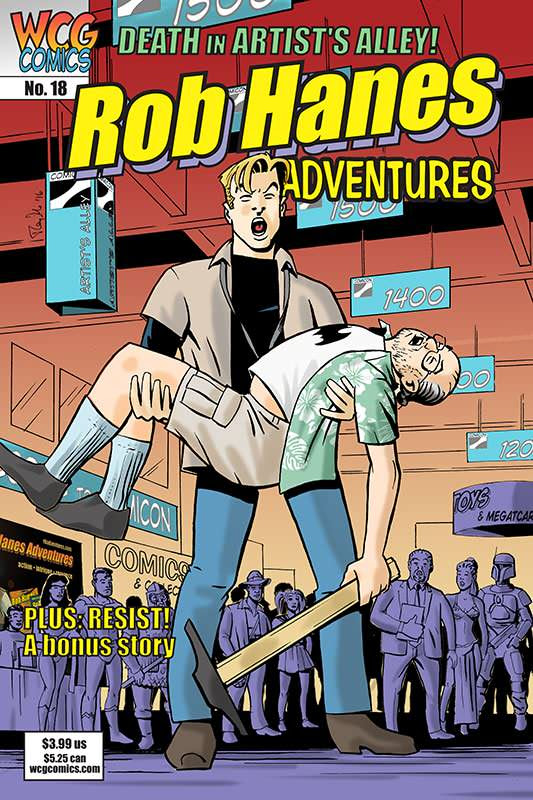 Cover to Rob Hanes Adventures #18