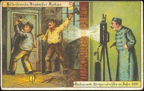 carte postale 2000 futur 12 En 1900, des cartes postales imaginent lan 2000  histoire featured design
