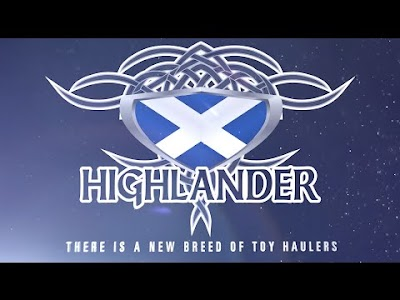 RV videos: Highlander Toy Hauler from Highland Ridge, Mirada Class A from Coachman RV, Axis RUV from Thor Motor Coach, & the Unity Island Bed Class B by Leisure Travel Vans