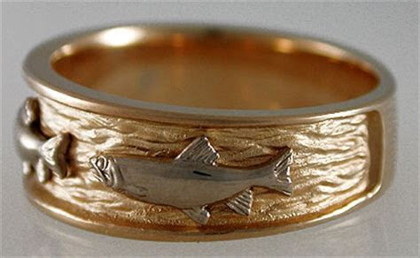 Ring on Pinterest   Trout, Titanium Rings and Rings