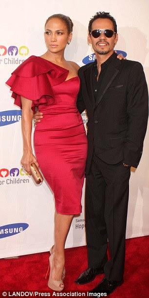 Ainda casado: Jennifer está se divorciando de seu atual marido Marc Anthony