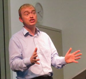 Tim Farron Social Liberal Forum conference Jul 19 2014 Photo by Paul Walter