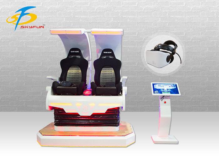 2 Kursi 4KW Pink Godzilla VR Gaming Equipment Dengan 360 ...