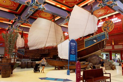 Chinese Junk @ China Court Dubai Ibn Battuta Mall