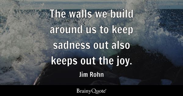 Walls Around Your Heart Quotes Quotes
