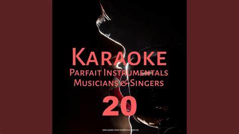 lets fall  pieces  karaoke version