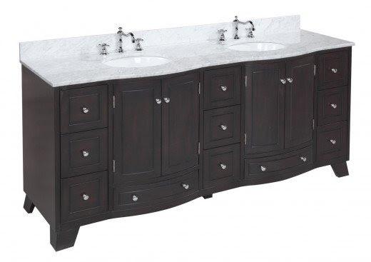 For a masculine look with plenty of storage, try the Palazzo 72-inch Bathroom Vanity for only $1,699!