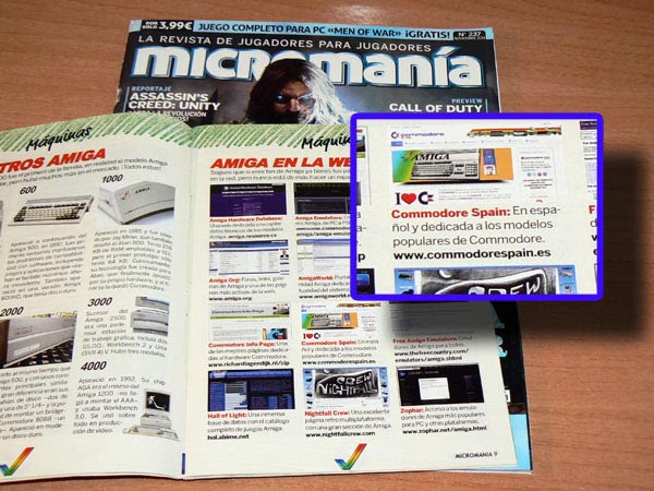 Micromania - Commodore Spain