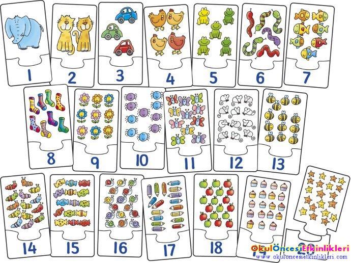1 Den 20 Ye Kadar Sayıları Yazmayı öğrenelim Okul öncesi