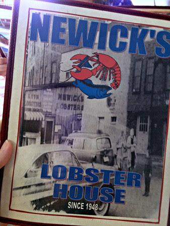 Newick's Menu