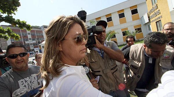 Françoise Amiridis , viuda del ex embajador de Grecia en Brasil