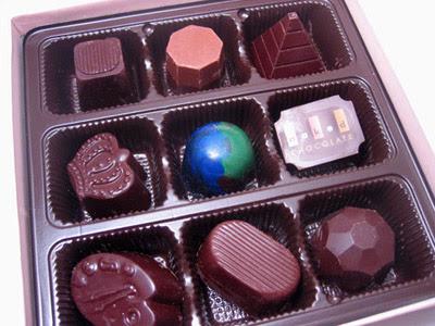 Naked Chocolate Bonbons