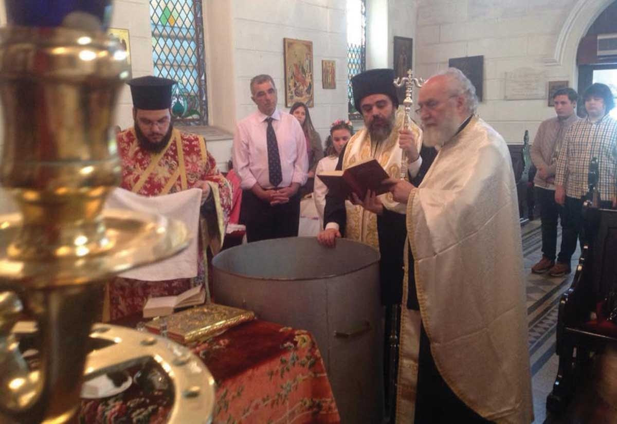 Αποτέλεσμα εικόνας για εγινε η πρώτη βάπτιση στην Σμύρνη