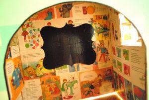 как сделать домик из коробки11