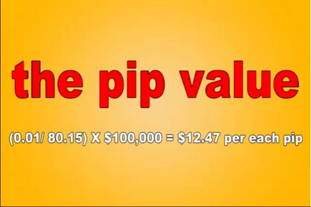 jpy pip value1 What is a Pip?