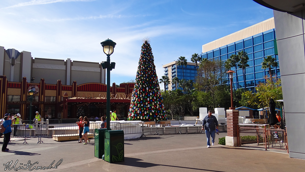 Downtown Disney, Disneyland Resort, Christmas, Christmas Tree