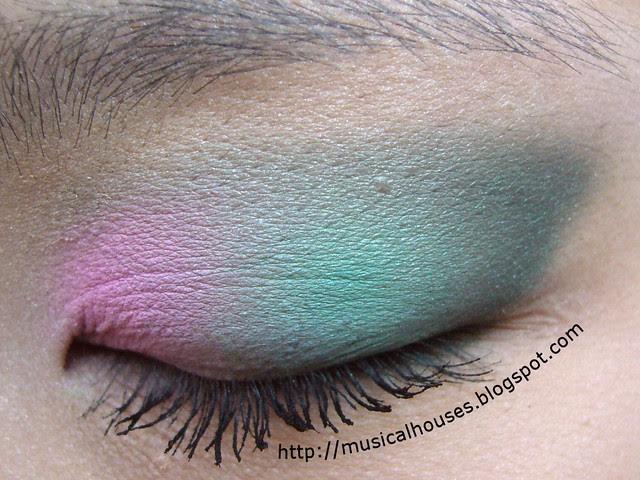 pink green spring eye 2