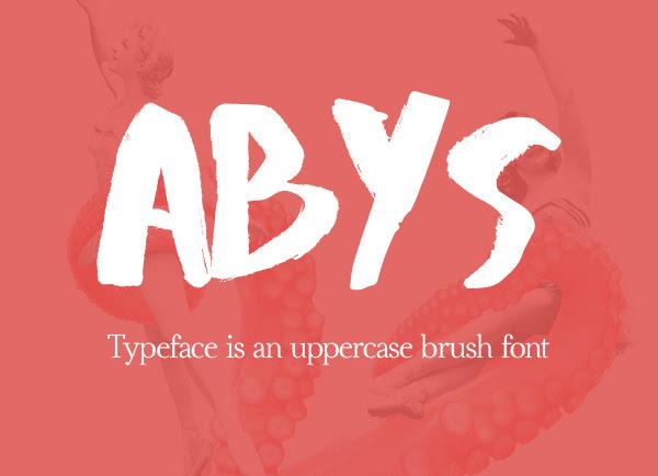 Abys gratuito Brush Fuente