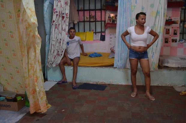 Ala LGBT no Roger, em João Pessoa, tem compartimentos separados para cada detento. (Foto: Valéria Sinésio)