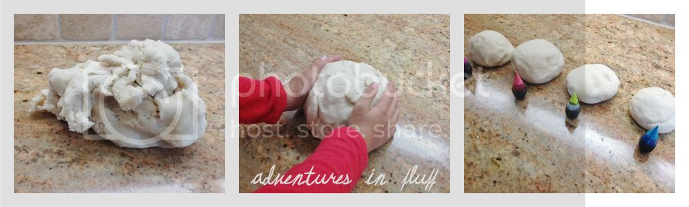 How To Make Your Own Playdough - Roll Into Balls