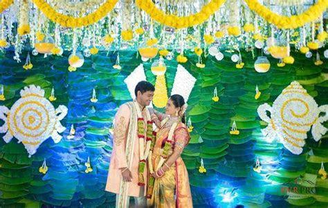 Telugu wedding decor. South indian Telugu wedding   Indian