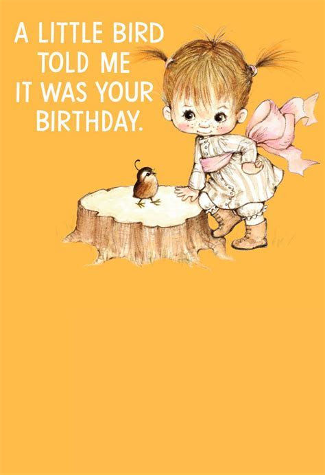 Little Bird Funny Birthday Card   Greeting Cards   Hallmark