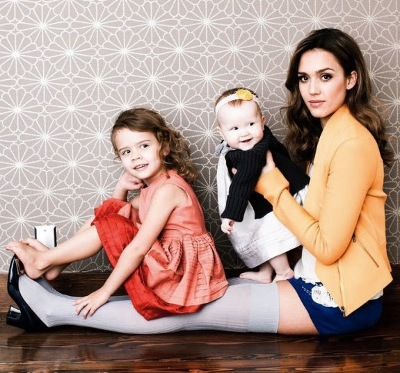 Jessica Alba & Daughters: Posh Photo Shoot from Fast Company.  she's a Mompraneur of The Honest Company.  Photo via CelebrityBabyScoop.com