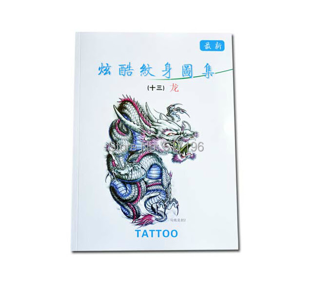 Wholesale 2015 New Chinese Tattoo Books Various Dragons Tattoo