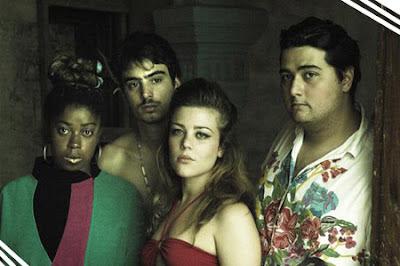 Esquerda p/ direita: Ana, Pedro, Laura, Gorky